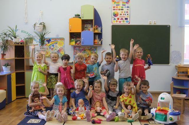 Группа «Осьминожки» детского сада №266.