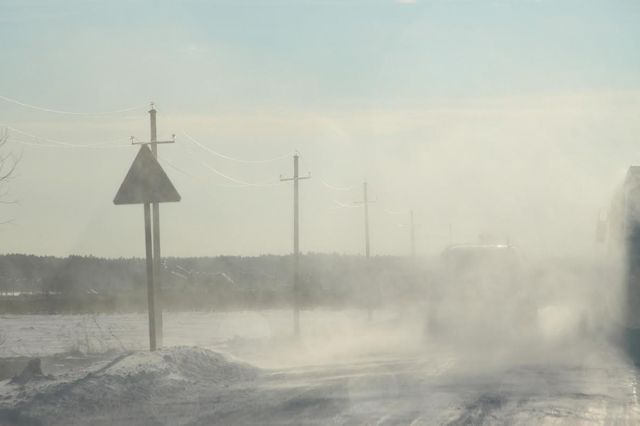 Завтра на Красноярский край обрушится западный ветер.