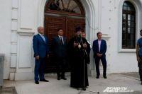 Имя настоятеля и состав приходского совета сообщит митрополит Владимир.