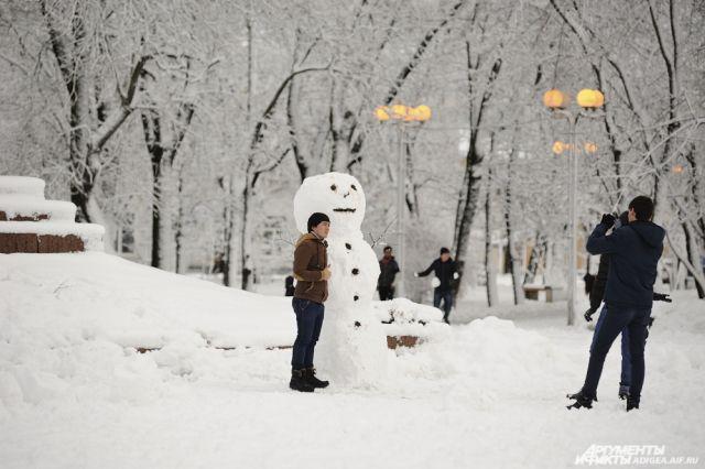 Погода будет переменчивой, но зимней