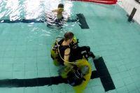 Игорь Скикевич: «На такой коляске можно не только свободно плавать под водой, но и выполнять различные элементы».