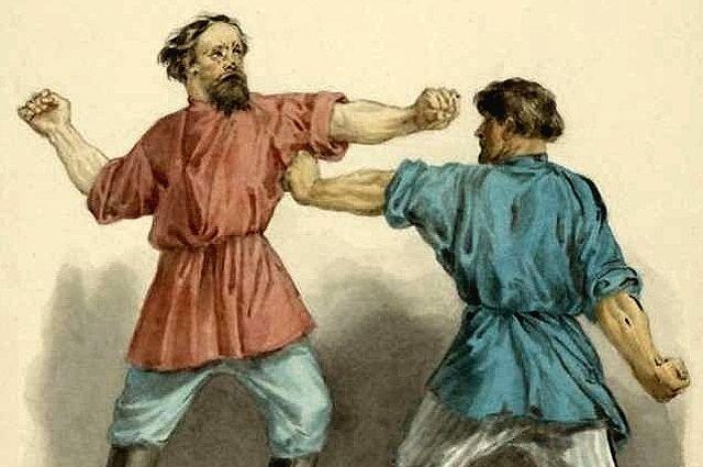 Кулачный бой - исконно русский вид спорта