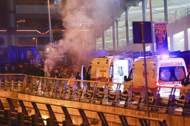 Число пострадавших при взрывах вСтамбуле возросло до70