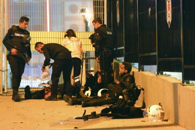 Размещено видео сместа взрыва вСтамбуле