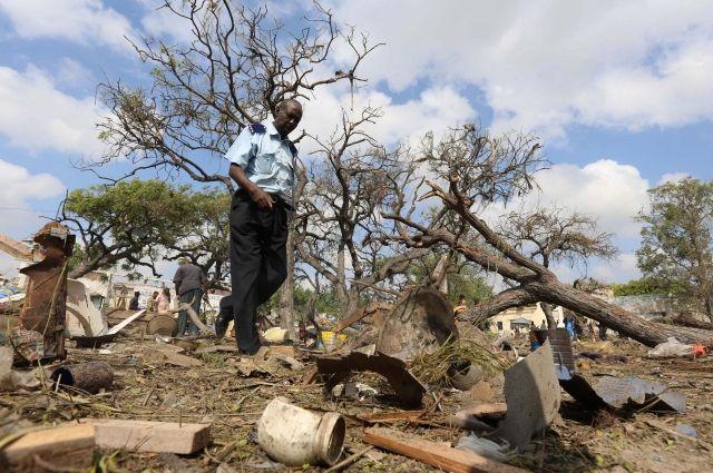 Встолице Сомали десять человек стали жертвами взрыва