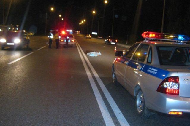 Авария произошла на нерегулируемом пешеходном переходе.