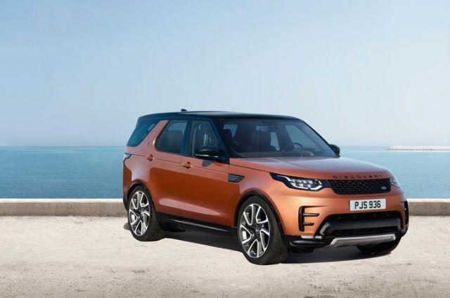 Объявлены цены на новый Land Rover Discovery