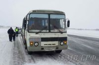 Никто из пассажиров автобуса не пострадал.
