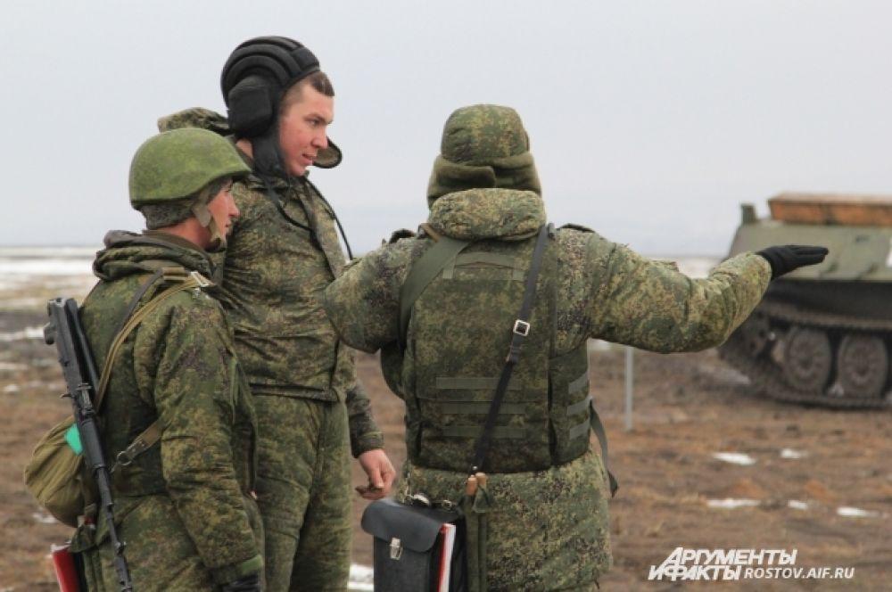 Разбор действий экипажа БТРа.