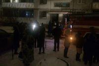 В Оренбурге пожарные спасли на пожаре 15 человек