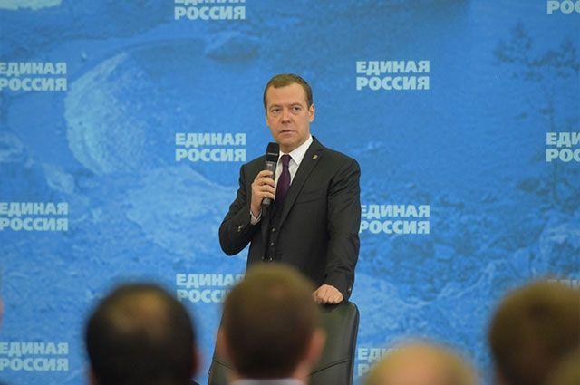 Дмитрий Медведев приедет в Оренбург обсудить охрану здоровья женщин и детей