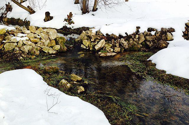Незаконное производство было организовано в 35 метрах от ручья, из которого происходит забор питьевой воды для жителей.