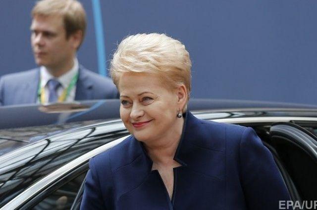 Президент Литвы сегодня посетит государство Украину