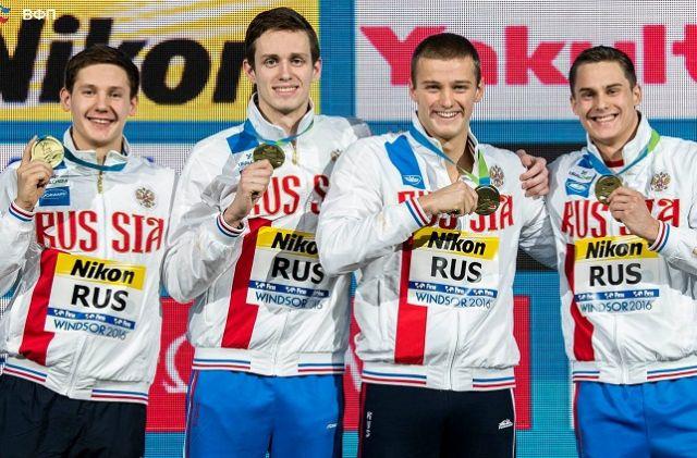 Мужская сборная России по плаванию - сильнейшая в мире!