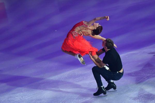 Екатерина Боброва и Дмитрий Соловьев (Россия).