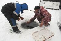 Лучше всего рыболовство развито в Крутинке.