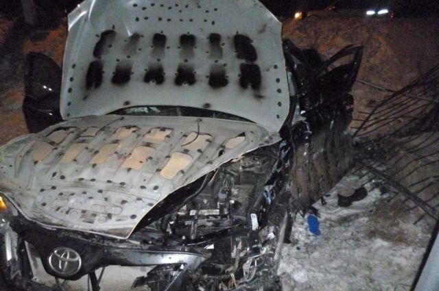 На автотрассе «Тамбов-Шацк» вДТП умер шофёр «Тойоты Камри»