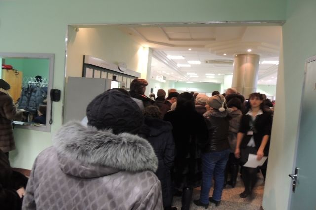 12 декабря в Татфондбанке скопились огромные очереди из желающих забрать деньги.
