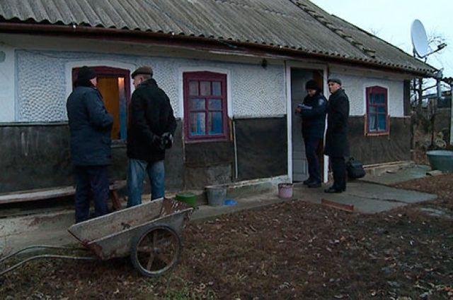 Дом, где нашли тела