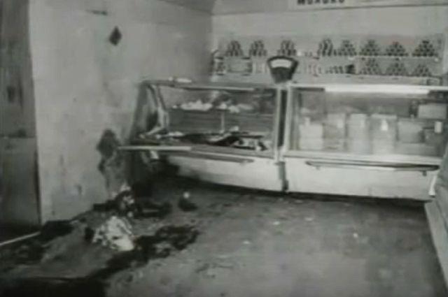 Взрыв в торговом зале продуктового магазина № 15. © / Кадр youtube.com