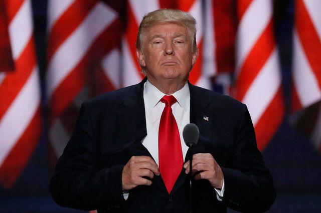 Трамп отложил объявление освоем уходе избизнеса наянварь будущего года