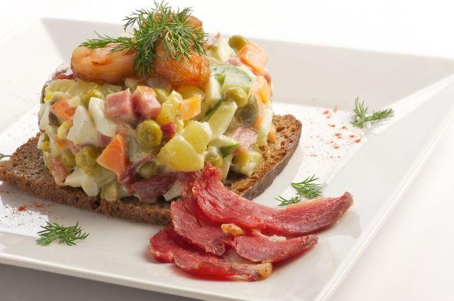 Внынешнем году салат «Оливье» может позволить себе каждый украинец