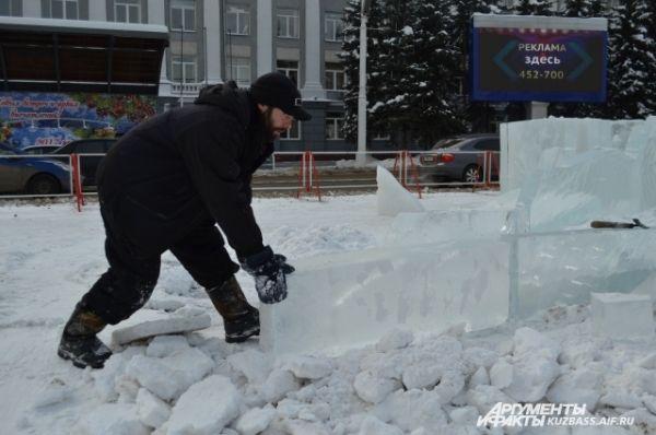 Основные же работы по украшению города завершились к 10 декабря.