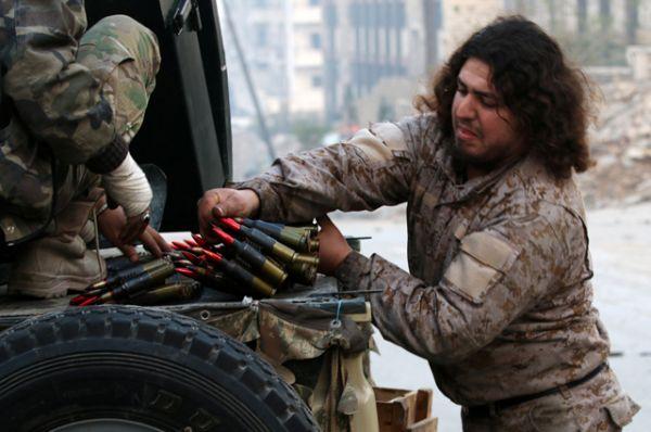 Бойцы сирийской армии.