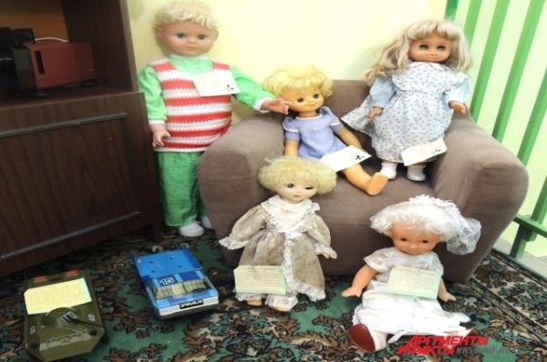 Куклы и пупсы наших мам.