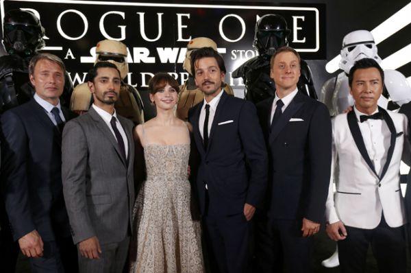 Звездная команда актеров фильма «Звездные войны: Изгой».