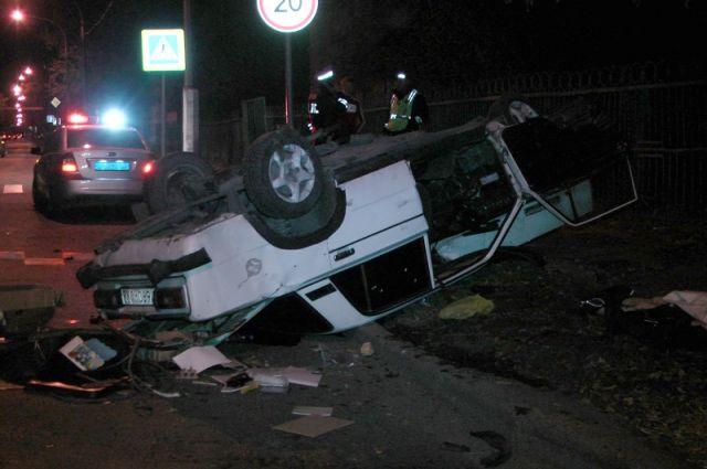 В результате ДТП пострадала пассажирка.