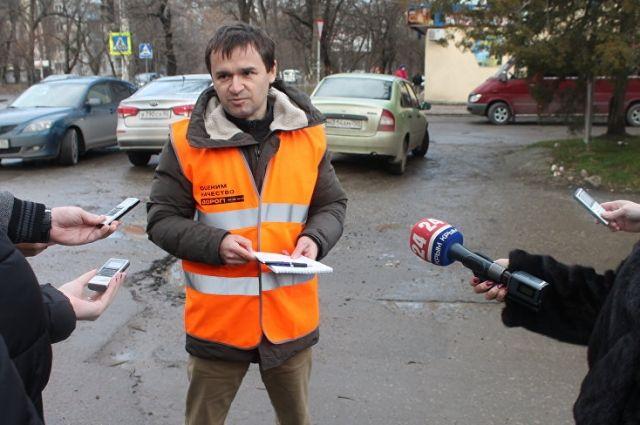 Дмитрий Цопов, инспектор общественной организации
