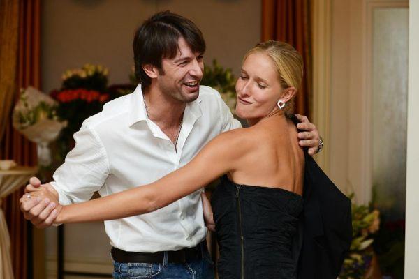 Здесь Александр с Катей Осадчей. Живая фотография получилась