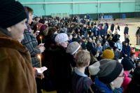 На прощание с погибшими детьми пришли почти 50 тысяч человек.