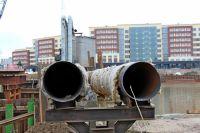 Подрядчик назвал причину отставания при реконструкции моста Высокого.