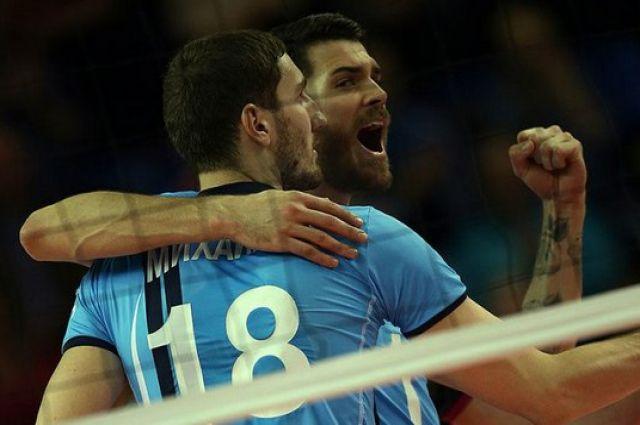 Волейболисты «Белогорья» победили столичное «Динамо» вматче за3-е место вКР