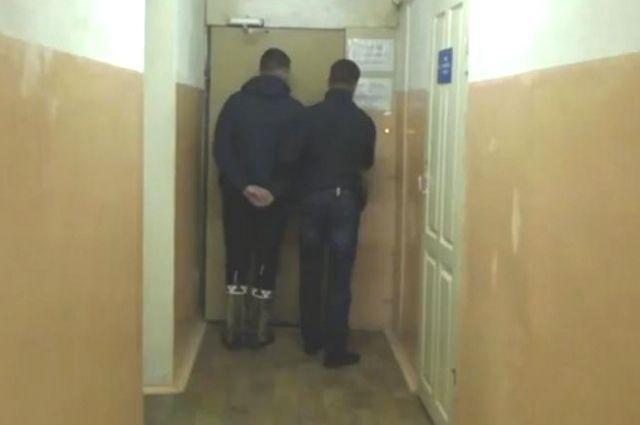 Задержанный студент.