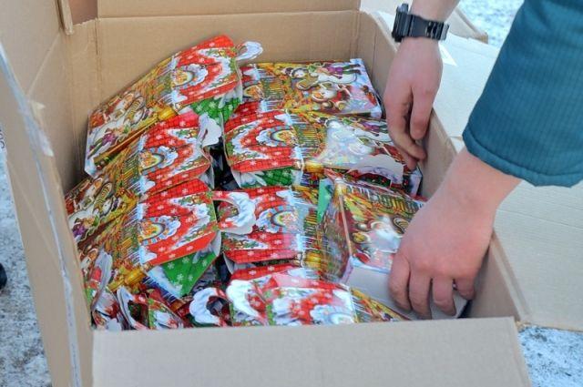 В Калининграде начали сбор новогодних подарков для тяжелобольных детей.