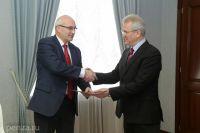 Собеседники договорились о продолжении сотрудничества.