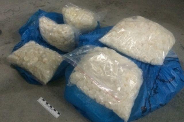 80 кг наркотического концентрата изъяли в НСО