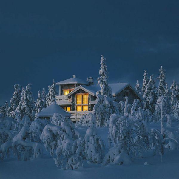 Вот где нужно отмечать рождественские праздники и Новый год!