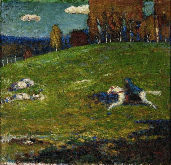 «Синий всадник», 1903 год