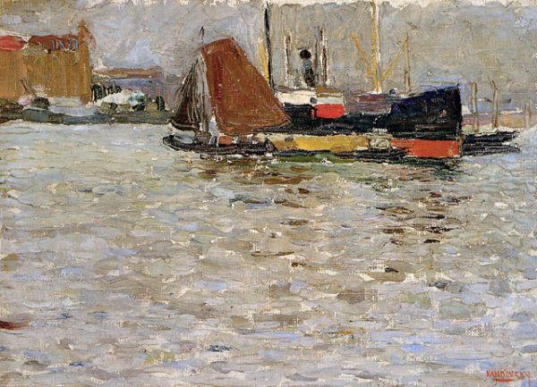 «Роттердамское солнце», 1906 год