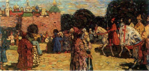 «Воскресенье (Древняя Русь)», 1904 год
