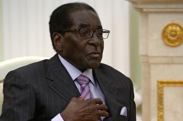 92-летний диктатор вЗимбабве собрался нановый срок