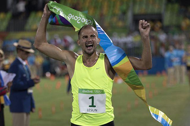 Лесун получил национальную премию МинспортаРФ вкатегории «Спортсмен года»