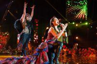 В Иркутске состоялся единственный концерт Натальи Орейро.