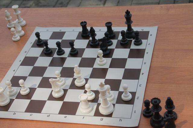 Российская сборная - лидер соревнований по шахматам.