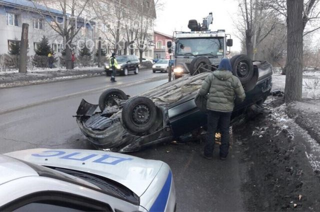 В аварии никто не пострадал.