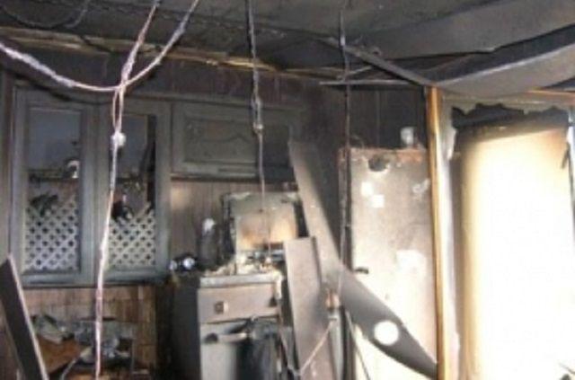 Очагом возгорания стала кухня.